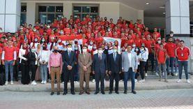 جامعة دمياط تحتفل بأول دفعة لشعبة البنات بكلية التربية الرياضية