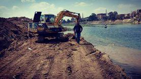 إزالة248حالة تعد على نهر النيل في بني سويف