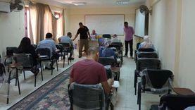 انطلاق الاختبارات التحريرية للمرشحين لوظائف القوى العاملة بسيناء
