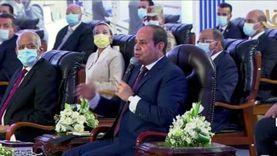 السيسي للمصريين: محدش هيقدر يدخل بينّا.. رهاني عليكم كسبان
