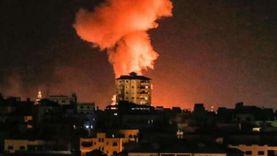 طائرات الاحتلال الإسرائيلي تشن سلسلة غارات على قطاع غزة