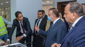 محافظ الإسكندرية يفتتح أحدث مكاتب الشهر العقاري المطورة
