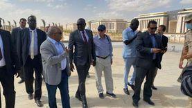 صور.. وزير ري جنوب السودان يزور العاصمة الإدارية: نموذج للمدن الحديثة