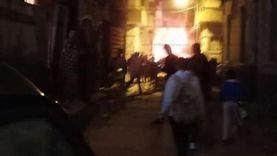 إصابة سيدة ووالدتها في أطفيح بسبب حريق داخل منزلهما