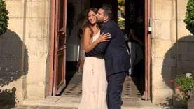 هبة طوجي تحتفل بزفافها على إبراهيم معلوف في باريس