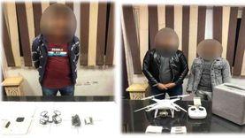 ضبط 3 بحوزتهم طائرات بكاميرات تصوير بالقاهرة