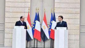 خبير اقتصادي: زيارة السيسي لفرنسا تؤكد ثقل مصر ودورها المحوري