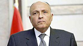 وزير الخارجية سامح شكري يتلقى اتصالا هاتفيا من نظيره العراقي
