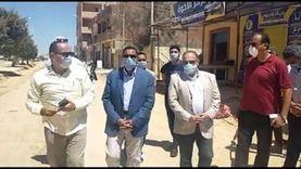 الانتهاء من تمهيد الطرق الترابية بحي الزهور بمطروح