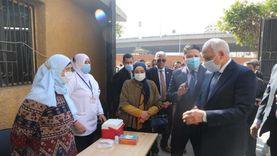 صحة الجيزة تدعو المواطنين لارتداء الكمامة أثناء التطعيم ضد شلل الأطفال