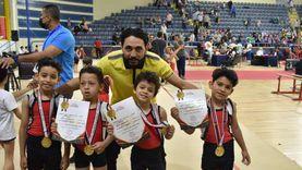 6 أطفال بجنوب سيناء يحصدون الميدالية الذهبية في بطولة الاتحاد المصري