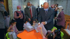 محافظ القاهرة يزور دار «السندس» للأيتام وذوي الاحتياجات الخاصة