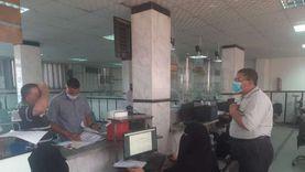 إقبال على طلبات التصالح بالمراكز التكنولوجية في كفر الشيخ