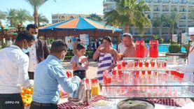 فنادق الغردقة تواجه كورونا بمهرجان الفراولة لتنشيط مبادرة «شتي في مصر»