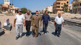 محافظ شمال سيناء يتفقد تنفيذ «محور الفاتح» بالعريش
