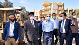 محافظ الغربية: تخصيص قوافل بيطرية لخدمة أهالي قرية بشبيش بالمحلة