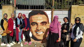 جداريات المنسي ومشالي والشعراوي تزين ميادين المنصورة