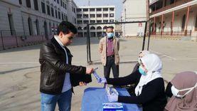 توزيع كمامات طبية مجانا على طلاب القاهرة والجيزة قبل دخول الامتحانات