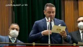 """""""في أول ظهور برلماني"""".. حازم إمام يحذر من خطر كورونا على اللاعبين"""