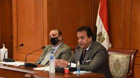 عبدالغفار يتلقى تقريرا حول مشروع تأهيل معامل الجامعات للاعتماد الدولي