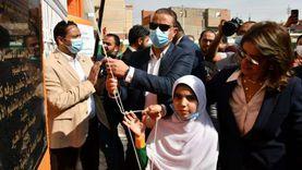 """محافظ الفيوم يفتتح مدرسة """"عبد السلام كريم"""" بسنورس"""