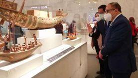 أشرف رضا: الطوابير أمام متحف الحضارة تذكرني بمتاحف روما وباريس