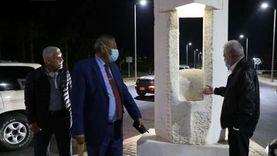 محافظ جنوب سيناء يتفقد الممشى السياحي بهضبة أم السيد بشرم الشيخ
