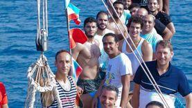 منتخب مصر لليد في يوم ترفيهي برحلة بحرية لأعماق البحر الأحمر