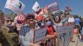 بث مباشر.. مظاهرات ضد الإخوان في تونس ومحاولات لاقتحام مقراتهم