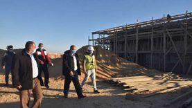 محافظ أسيوط يتفقد أعمال تنفيذ المحطة الانتقالية الوسيطة للمخلفات الصلب