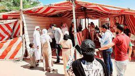 """إقبال على لجنة """"الشيوخ"""" بأبورديس في جنوب سيناء"""