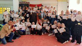 """ختام فاعليات مبادرة """"لا للتحرش"""" بمراكز شباب كفر الشيخ"""