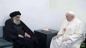 كواليس لقاء بابا الفاتيكان والسيستاني: ركز على أهمية نشر السلام