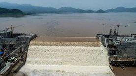 مفاجأة.. هبوط أرضي بموقع السد الإثيوبي ينذر بانهياره
