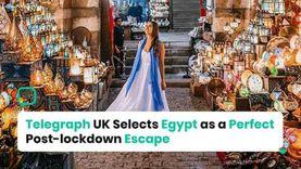 «تليجراف» تختار مصر كأفضل الوجهات السياحية: حققت انخفاضا بالغا في إصابات كورونا
