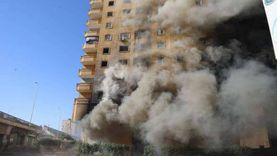 إصابة عجوز في حريق شقة بالإسماعيلية