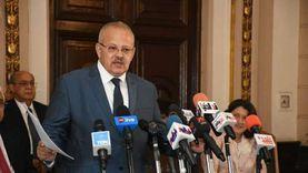 الخشت: نتطلع لتقدم جامعة القاهرة على التصنيف الدولي منذ 3 سنوات