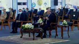 «ربنا ما يقطع له عادة».. السيسي يستدعي كامل الوزير في افتتاح مشروعات بورسعيد