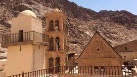 محمية سانت كاترين قبلة السائحين وتزخر بالمناطق الأثرية من مختلف العصور