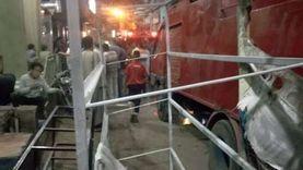 السيطرة على حريق بمول تحت الإنشاء في القاهرة الجديدة