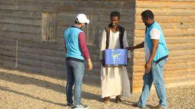 توزيع ألف كرتونة مواد غذائية على غير القادرين بحلايب وشلاتين