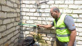 الأورمان: إنشاء أسقف وخطوط مياه لأسر فقيرة بكفر الشيخ