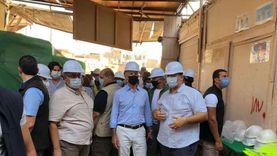 السفير الأمريكي يتابع مشروع إعادة اكتشاف الأصول التراثية لإسنا