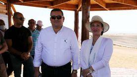 وزيرا البيئة والإعلام يتفقدان مركز الطيور المهاجرة بشرم الشيخ