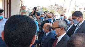 وزير العدل يصل مقر محكمة شبين القناطر لافتتاحها بعد التطوير