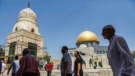 طقوس تلمودية في المسجد الأقصى تحت حماية قوات الاحتلال الإسرائيلى