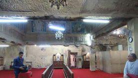 يضم كنيسة منحوتة في الصخر.. قصة دير القديس أباهور الأثري بالمنيا