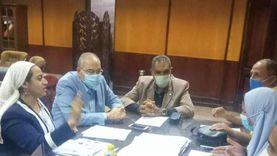 نائب محافظ جنوب سيناء تبحث الموقف من المشروعات الجارية بالطور