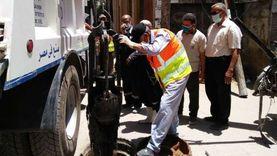القابضة للمياه: شفاطات للتدخل الفوري مع الأعطال المفاجئة في العيد