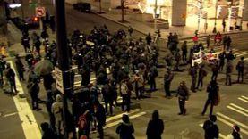 احتجاجات وتدمير في سياتل ضد الرئيس الجديد: اللعنة على بايدن «فيديو»